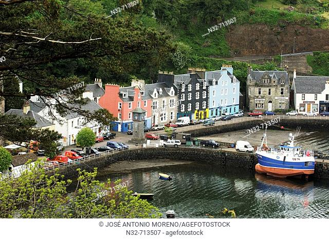 Tobermory. Isle of Mull. Scotland. UK