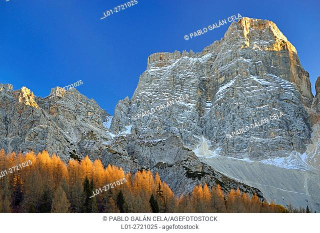 Pelmo (3168 m), Dolomites mountains, Italy