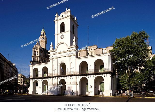 Argentina, Buenos Aires, Calbildo Museum, former City hall