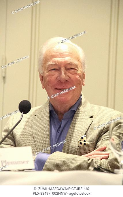 "Christopher Plummer 12/16/2017 """"All The Money in The World"""" Photocall held at Four Seasons Los Angeles at Beverly Hills in Los Angeles"