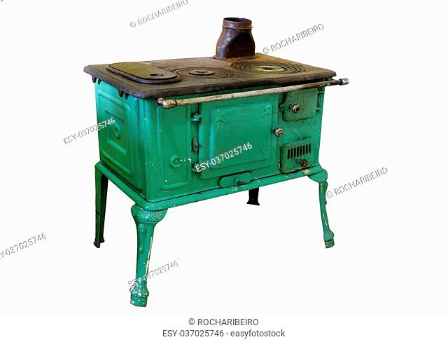 iron wood stove