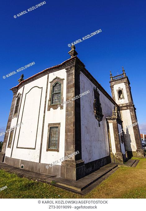 Chapel of Mae de Deus, Ponta Delgada, Sao Miguel Island, Azores, Portugal