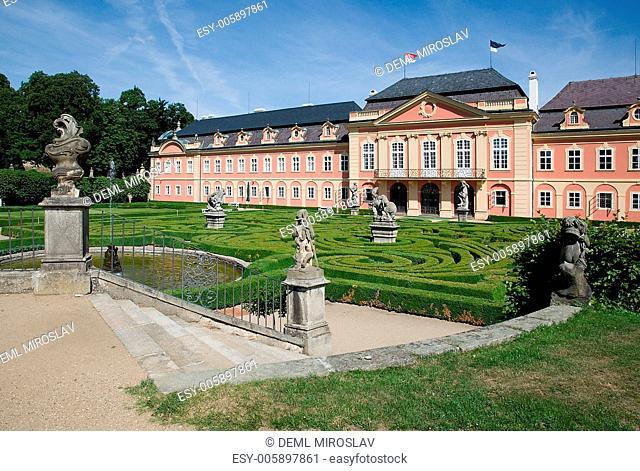Czech Republic,Dobris,castle