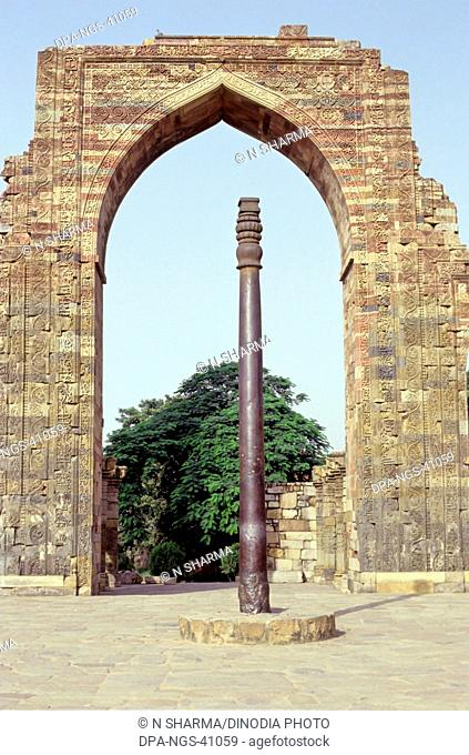 Ashoka Iron pillars ; Delhi ; india