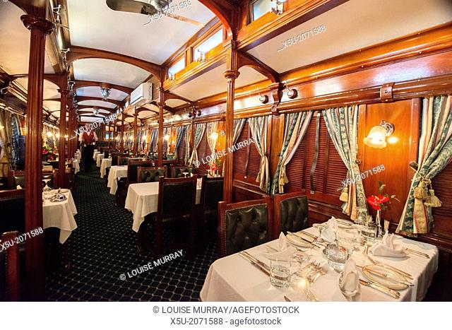 Rovos rail run privately owned luxury trains throughout Southern Africa. Dubbed the most luxurious train in the world, it is certainly five star and beautifully...