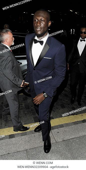 The GQ Men of the Year Awards 2017 - Arrivals Featuring: Stormzy Where: London, United Kingdom When: 06 Sep 2017 Credit: WENN.com