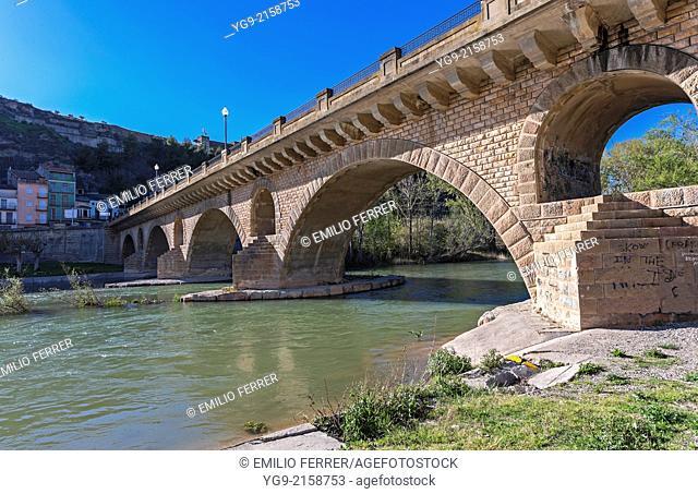 Bridge in Balaguer. LLeida. Spain
