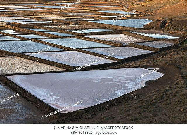 Salinas de Janubio, Canary Islands; Lanzarote; Spain