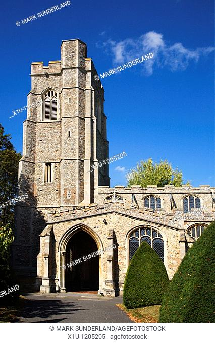 Parish Church of St Gregory Sudbury Suffolk England