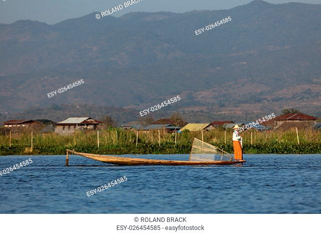 the unique one from inle lake in myanmar