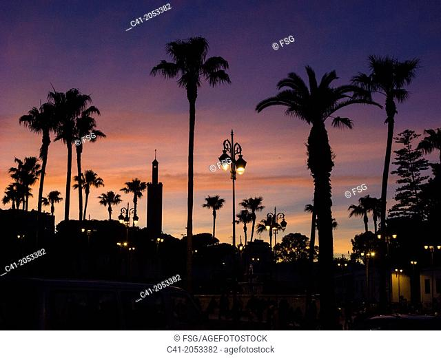 Place du 9 Avril 1947. Tangier. Morocco