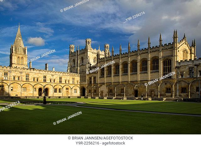 Christ Church College and Cathedral, Oxford, Oxfordshire, England