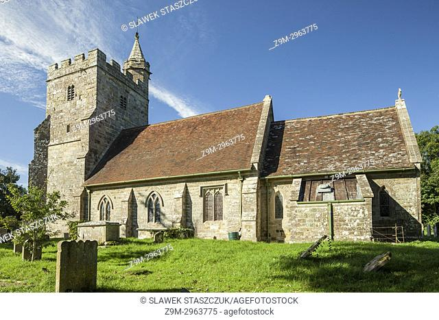 Little Horsted village chuch, East Sussex, England