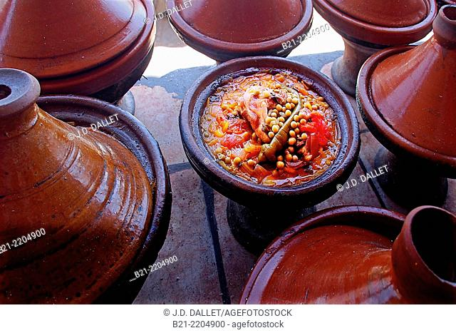 'Tajine' (stew of meat and vegetables), Morocco