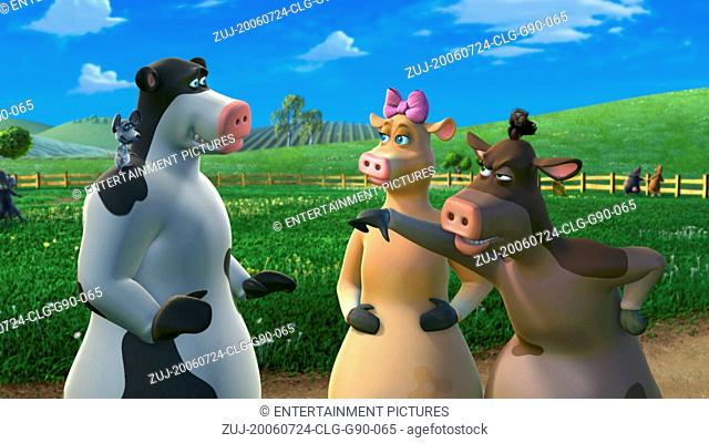RELEASE DATE: August 4, 2006. MOVIE TITLE: Barnyard. STUDIO: Paramount Pictures. PLOT: When the farmer's away, all the animals play