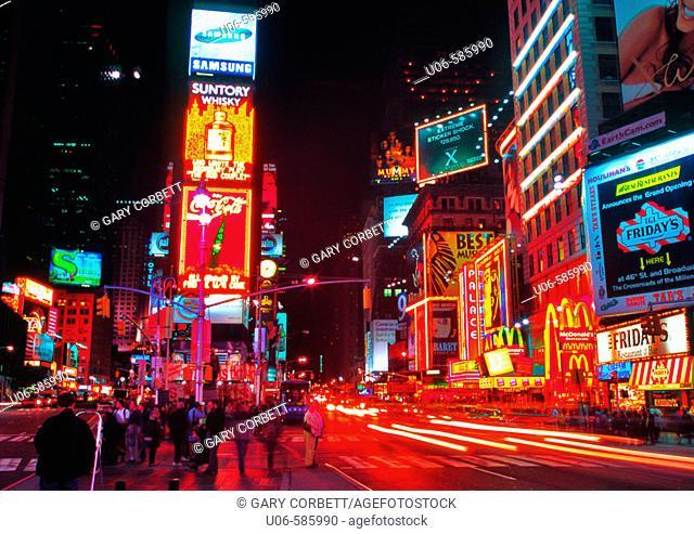 Times Square. New York City. USA