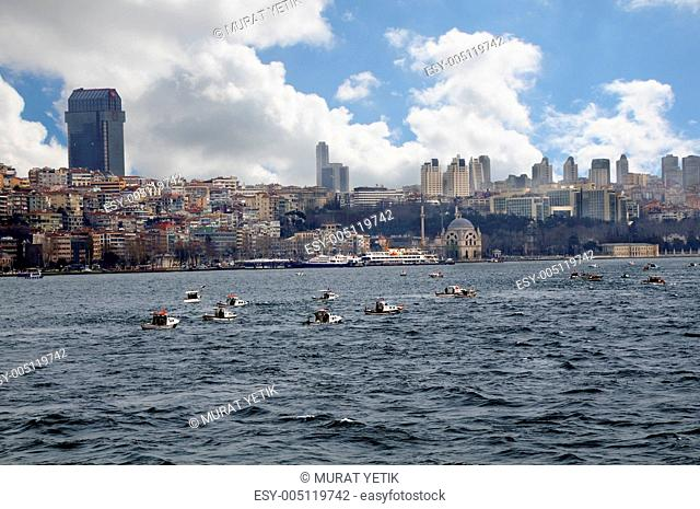 Daytime view of Istanbul
