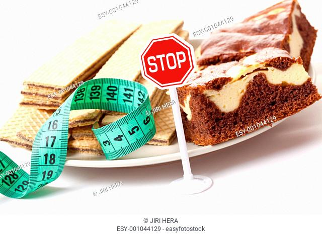 stop of sweet food