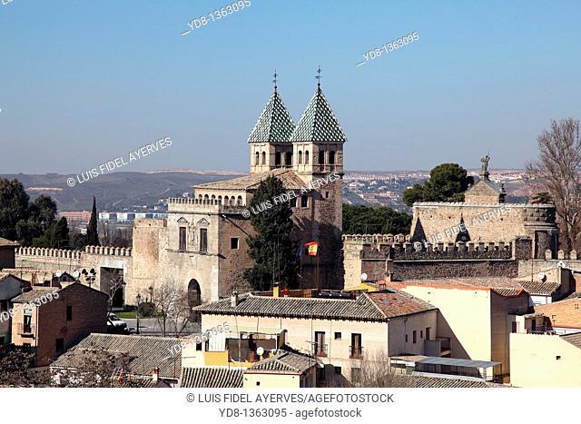 Panoramic View of the City of Toledo Castilla La Mancha, Toledo, Spain