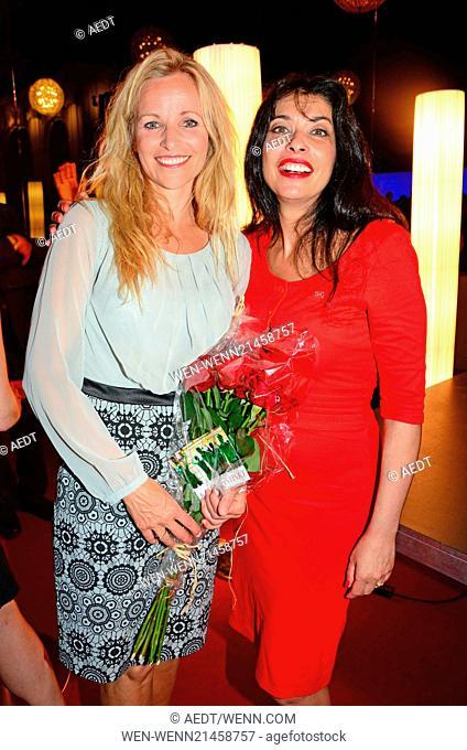 Susanne Elmark and Noemi Nadelmann at the premiere Soldaten at Komische Oper. Where: Berlin, Germany When: 15 Jun 2014 Credit: AEDT/WENN.com