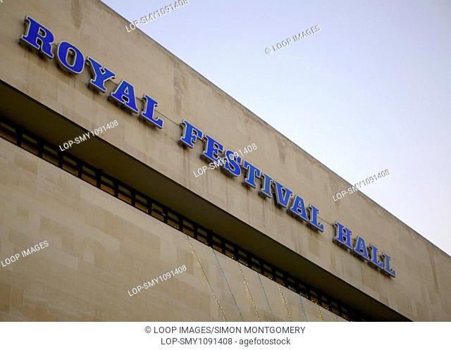 Royal Festival Hall building on the South Bank