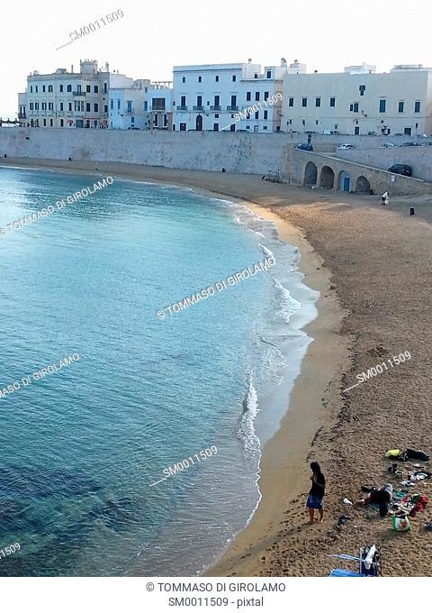 Italy, Salento, Gallipoli Beach