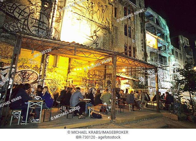 Tacheles Nightclub, Berlin nightlife, Oranienburger Street, Berlin, Germany, Europe