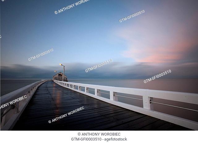 End of the pier, Blankenberge, Belgium