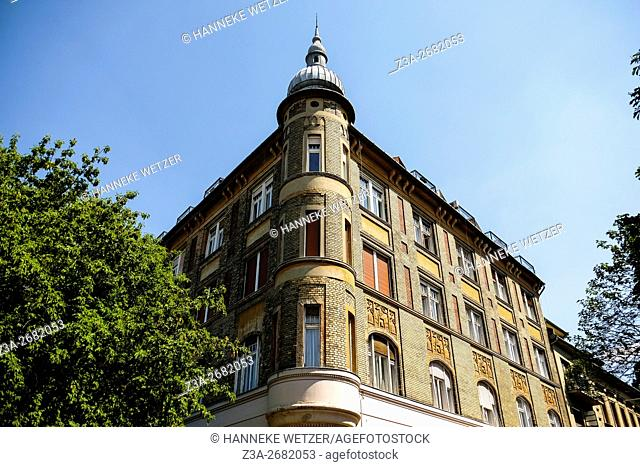 Traditional architecture in Budapest, Hungary