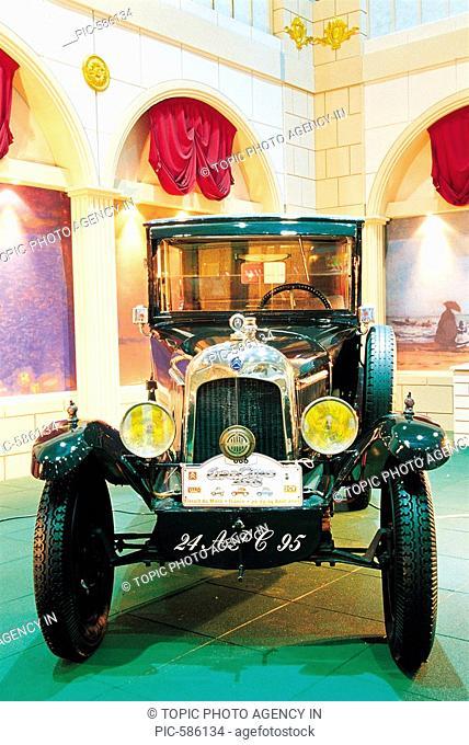 Antique Car Displayed