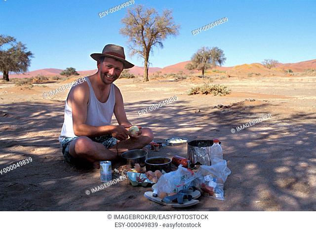 Picnic, Sossusvlei, Namibia