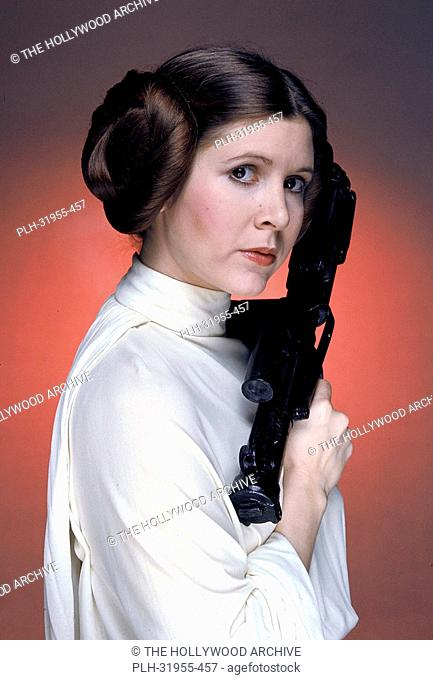Carrie Fisher in Star Wars 1977 20th Century Fox