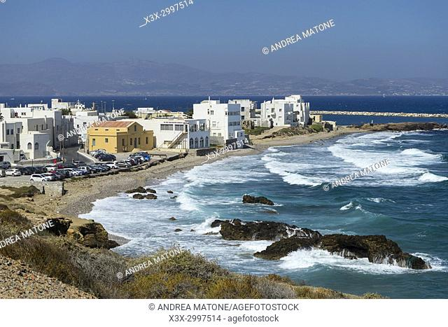 Naxos city. Greece