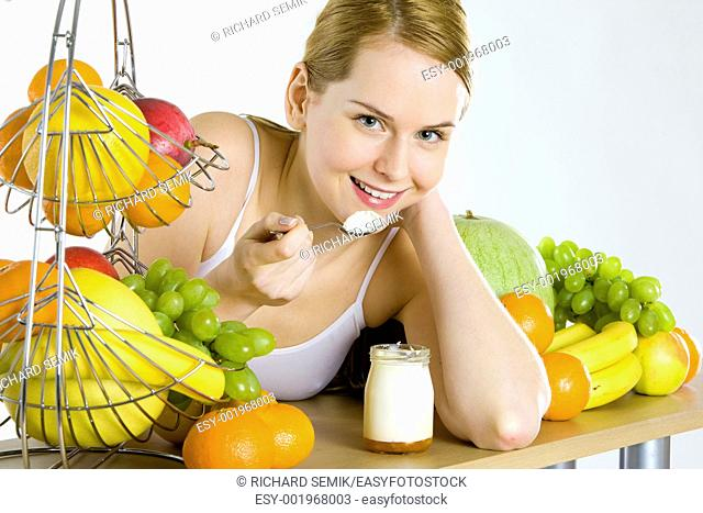 woman during breakfast