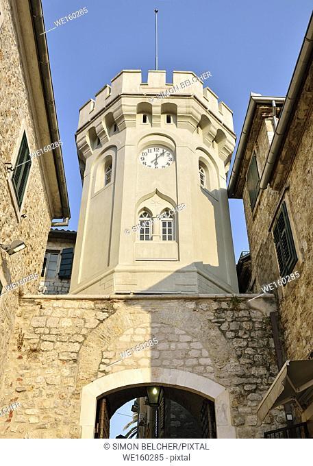 Clock Tower, Sahat Kula, Herceg Novi, Montenegro