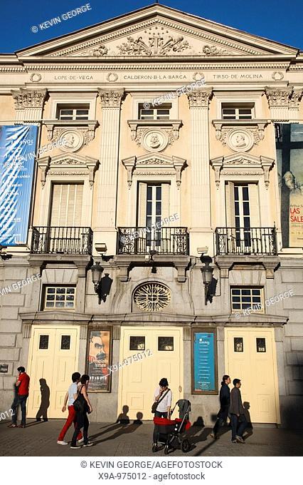 Espanol Theatre, Plaza Santa Ana Square, Madrid, Spain