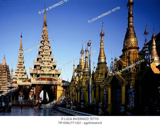 Myanmar Burma, Yangon, Shwedagon Pagoda