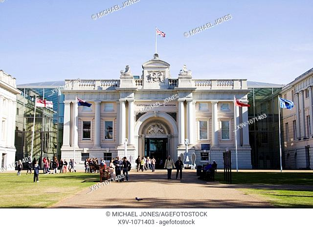 National Maritime Museum, Greenwich, London, England