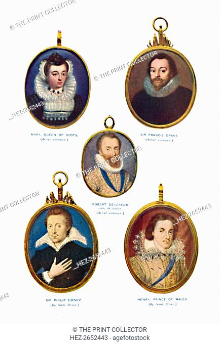 'Miniatures of the Elizabethan Period (Victoria and Albert Museum.)', c1580-1610, (1903). From the collection of the Victoria and Albert Museum, London