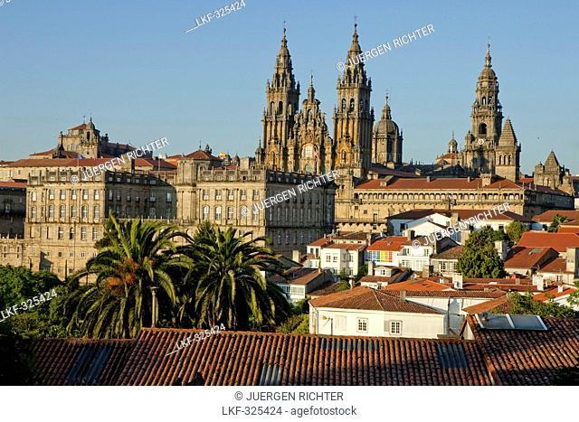 Cathedral of Santiago de Compostela, Camino Frances, Way of St. James, Camino de Santiago, pilgrims way, UNESCO World Heritage Site, European Cultural Route
