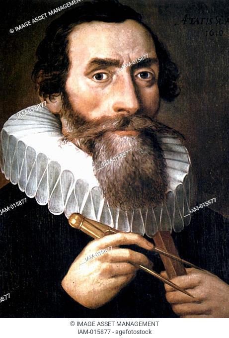 Johannes Kepler 1571-1630 astronomer