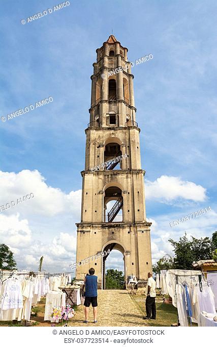 Surveillance tower of slaves of Manaca Iznaca sugar fabbica