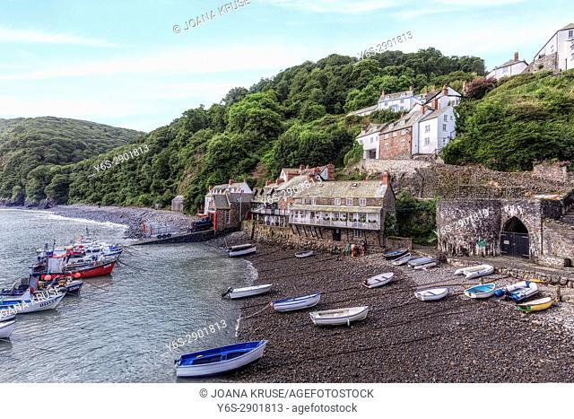 Clovelly, Devon, England, UK
