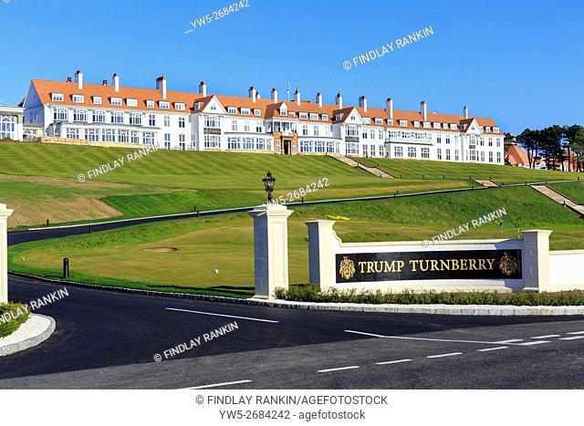 Trump Turnberry hotel, Ayrshire, Scotland, UK