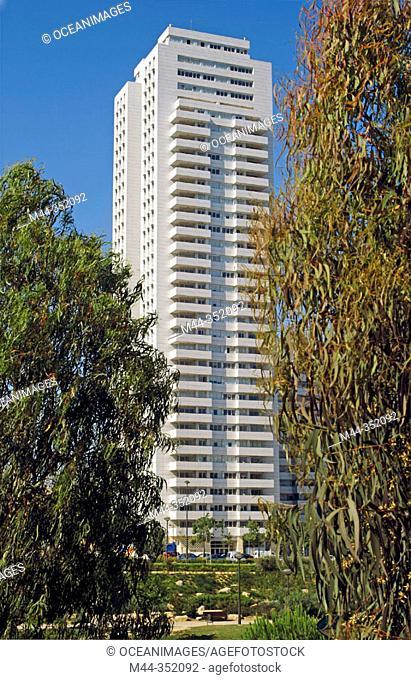 Torre de Francia building. Valencia. Spain