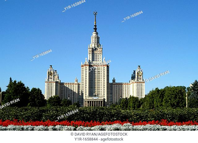Russia, Moscow University one of the 'Seven Sisters'
