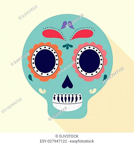 Mexico concept with icon design, vector illustration 10 eps graphic