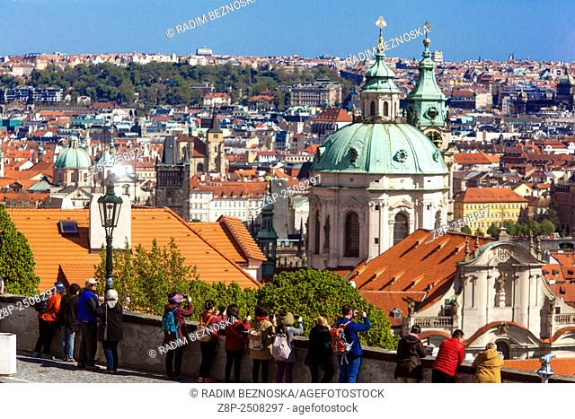 View from Prague Castle on the Old town