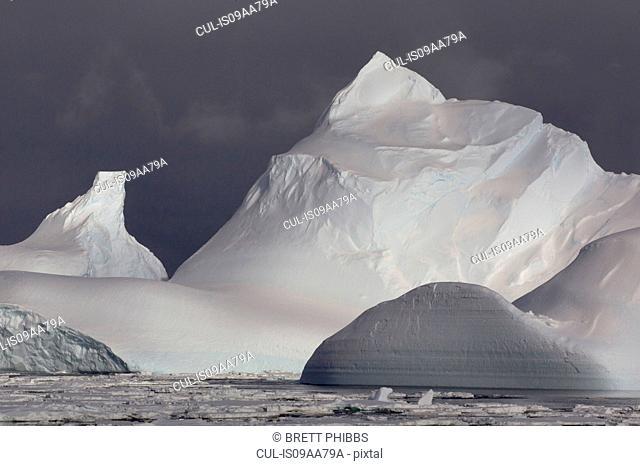 Iceberg in the Southern Ocean, 180 miles north of East Antarctica, Antarctica