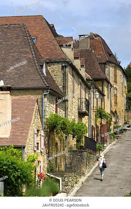 Domme, Dordogne, Aquitaine, France